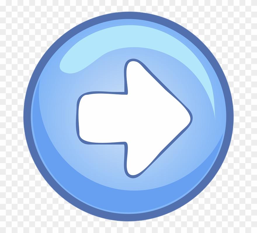 button clipart arrow