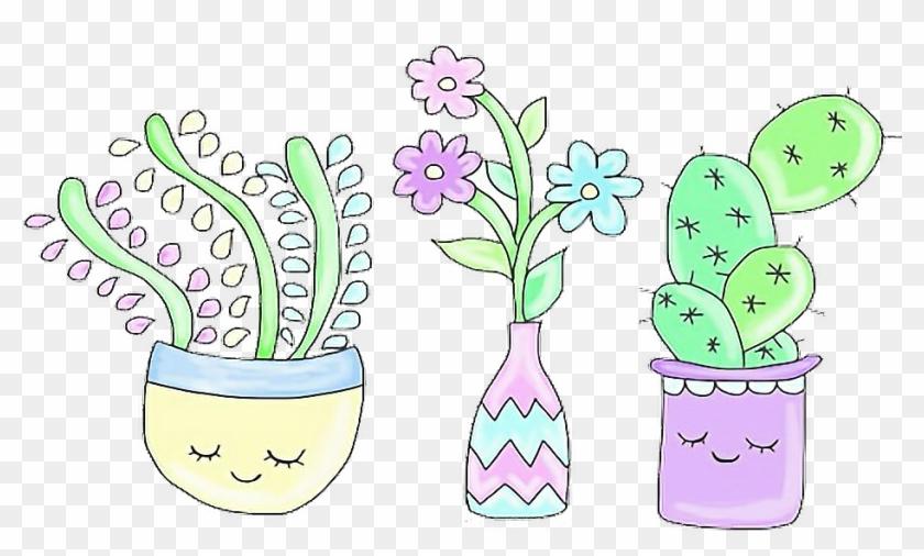 Cactus clipart aesthetic.