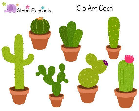 Cacti clip art.