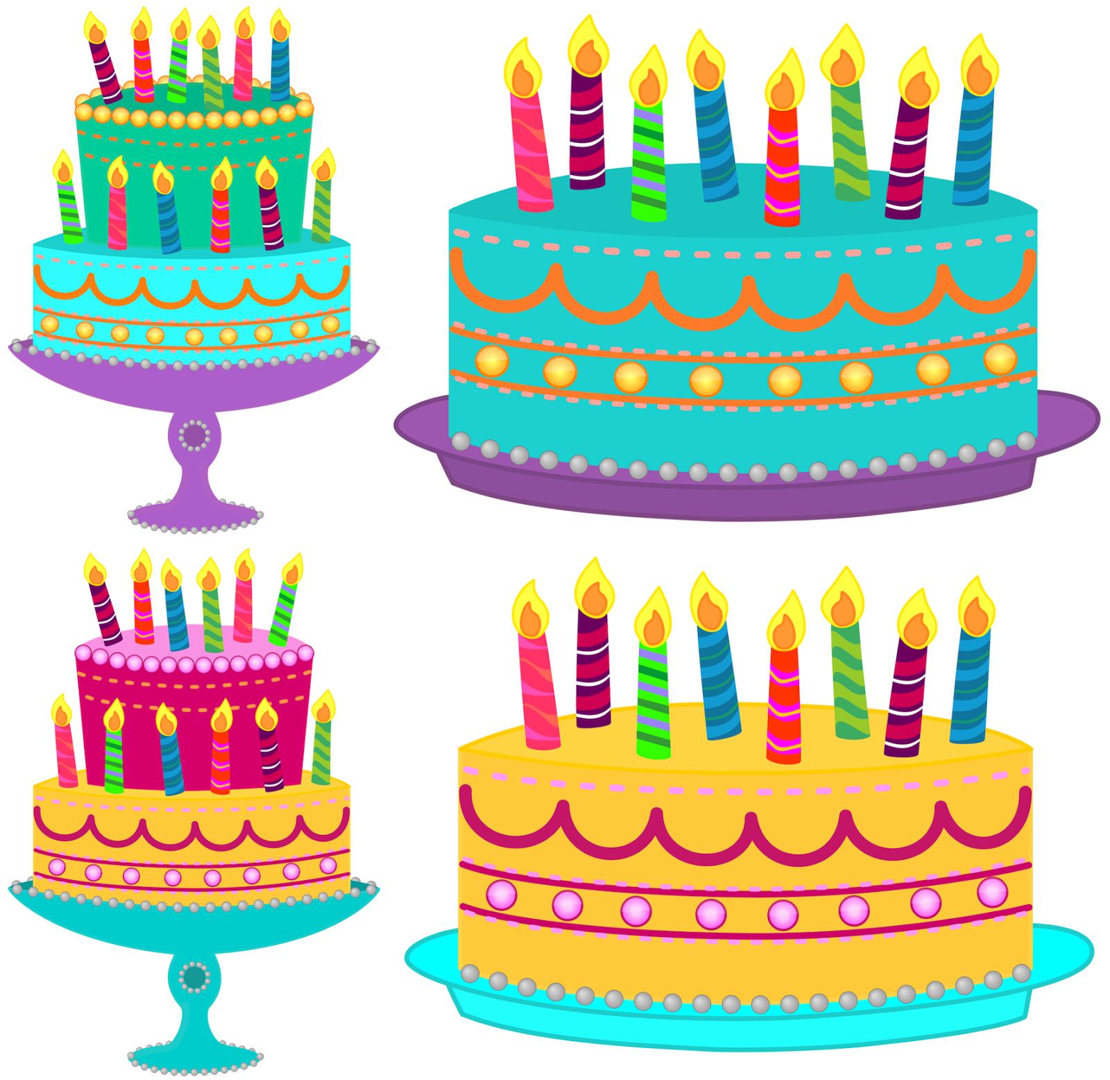 July birthday cake.