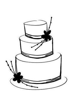 Clip art cake.
