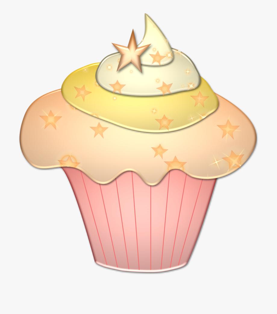 Free cupcake clipart.