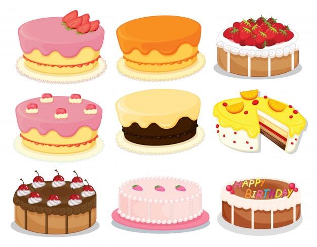 Cake vectors photos.