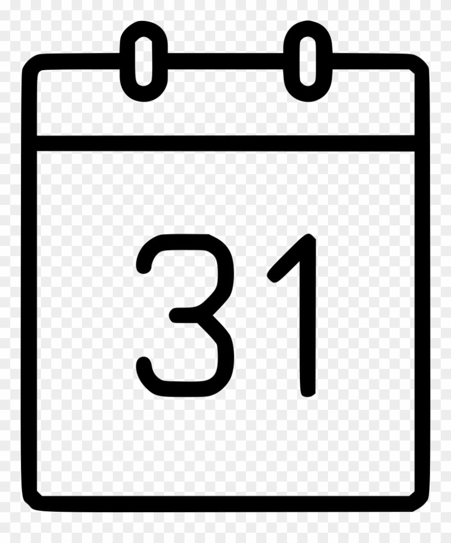 Calendar date schedule.