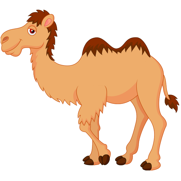Animated camel clipart.