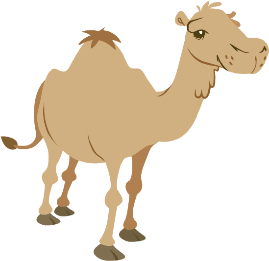 Camel chew animation.