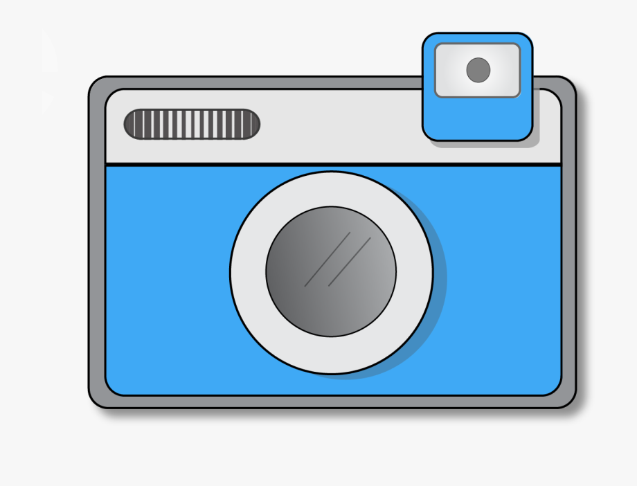 Old camera clipart.