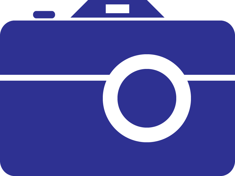 Blue clipart camera, Blue camera Transparent FREE for