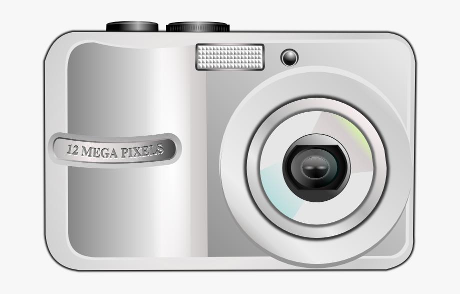 Clipart camera digital.