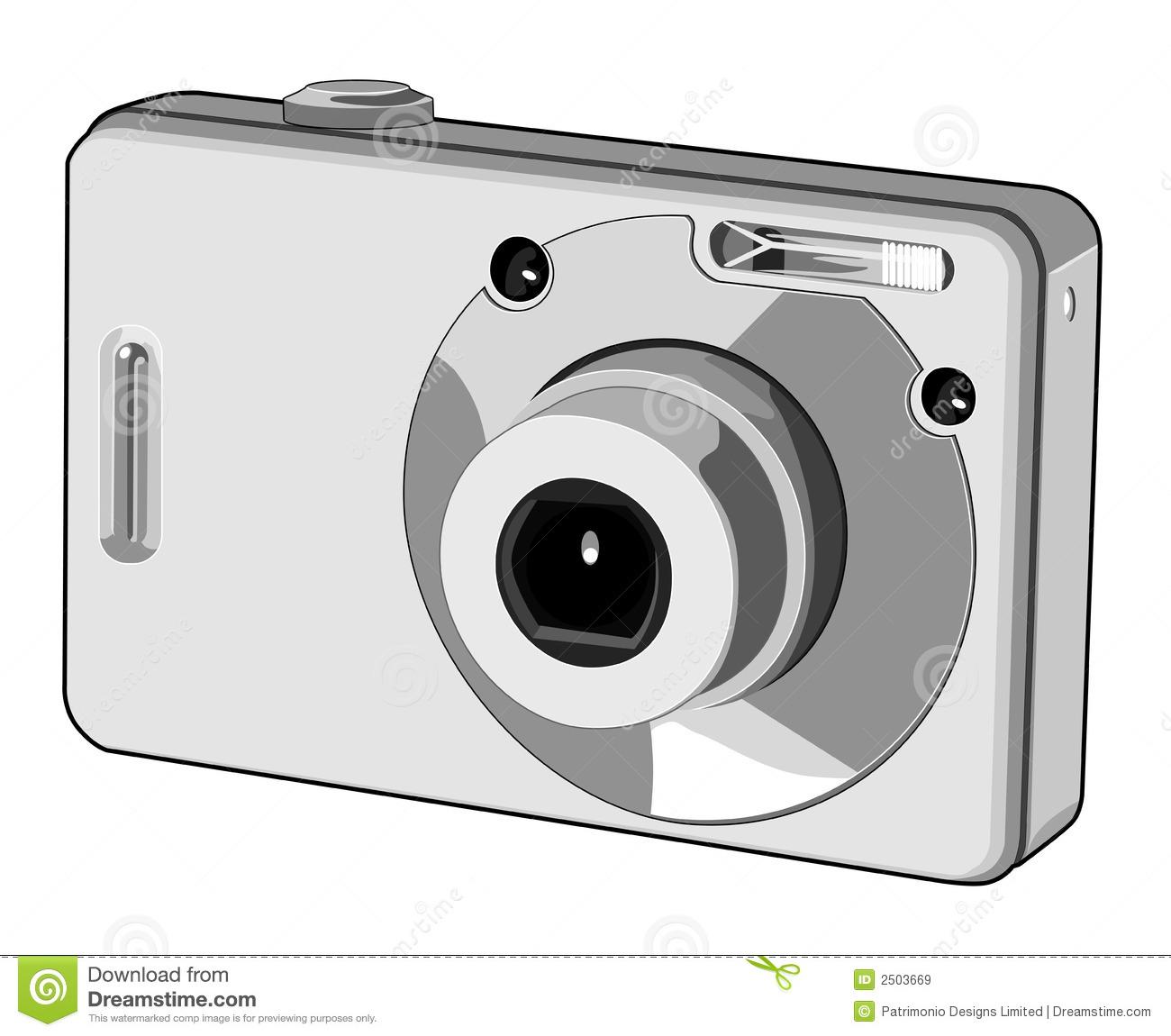 Digital camera clipart.