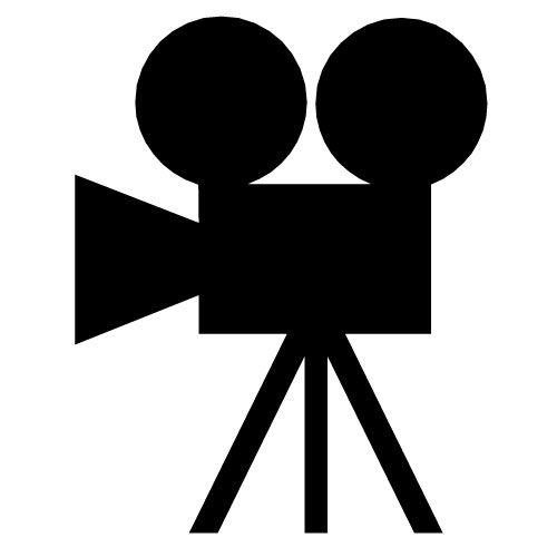 Movie camera clip.