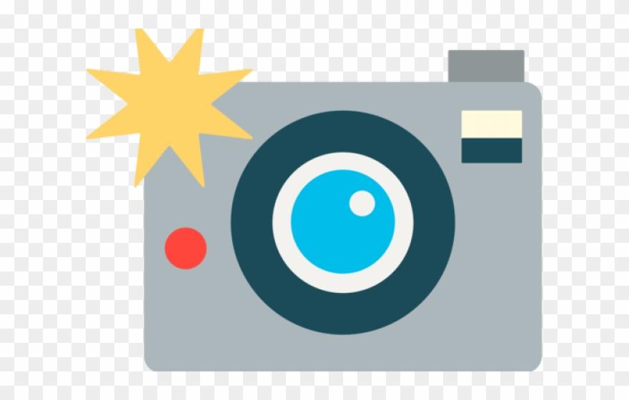 Photo camera clipart.