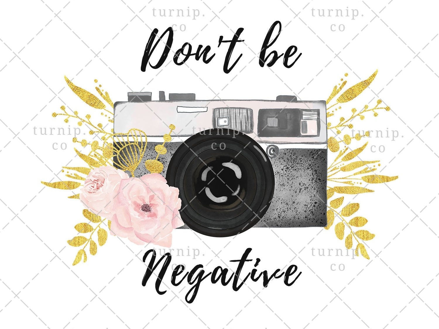 Watercolor Camera Clipart PNG Sublimation Graphic by turnip