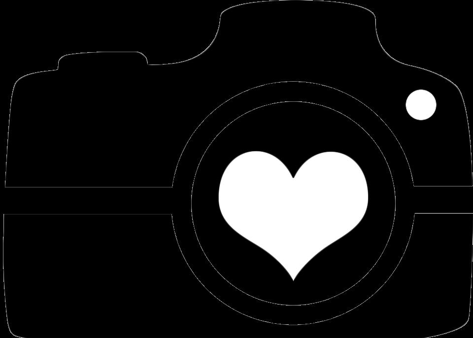 Camera Heart Clipart Image Transparent Png