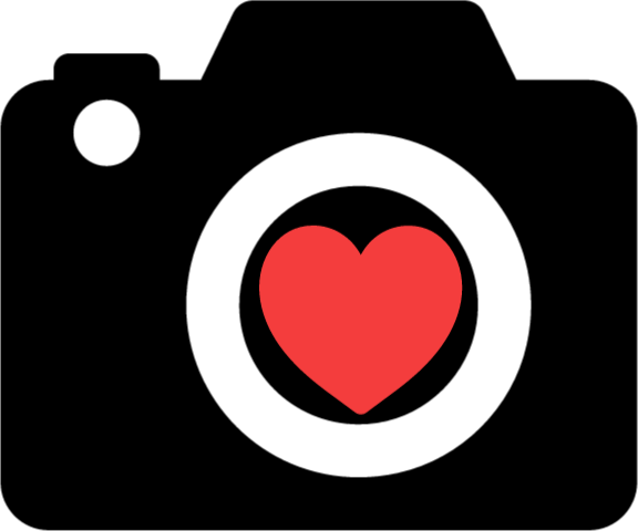 Camera clip art heart, Camera clip art heart Transparent