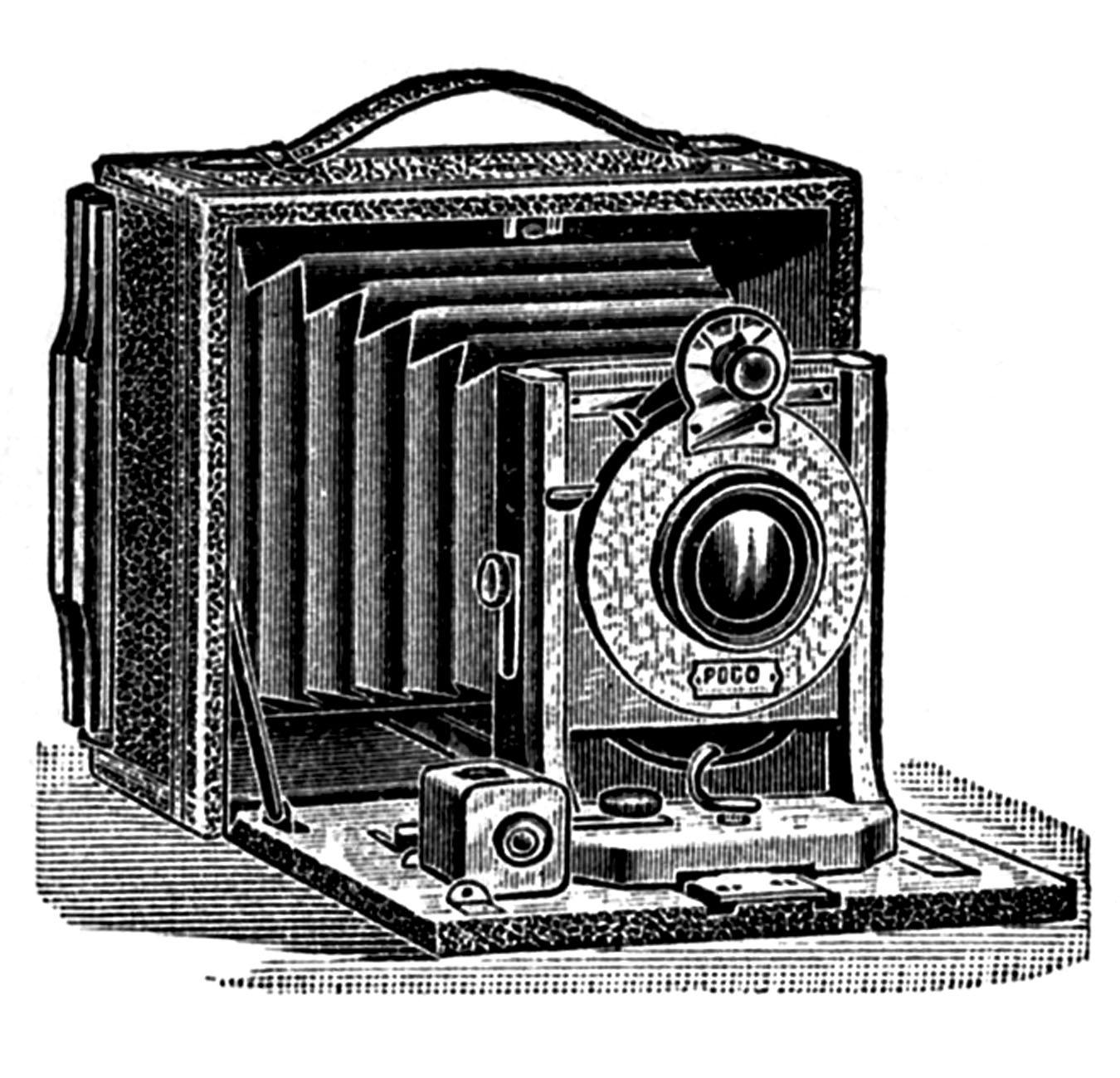 Free vintage camera.