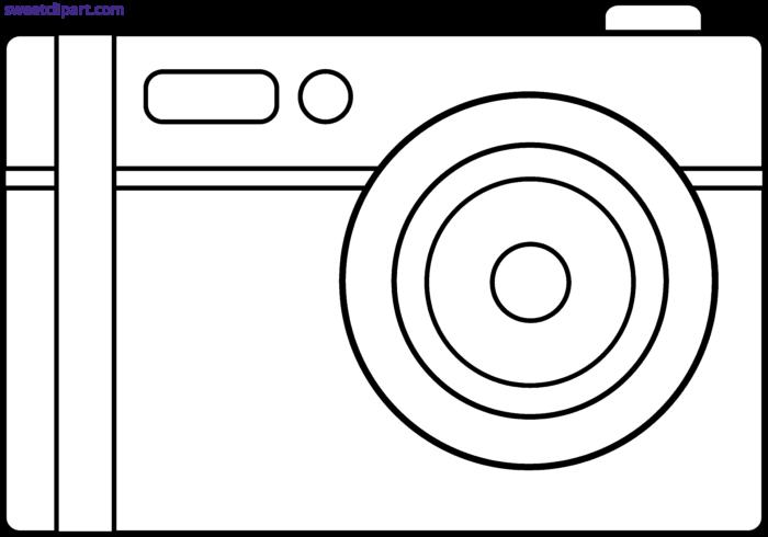 Digital camera outline.