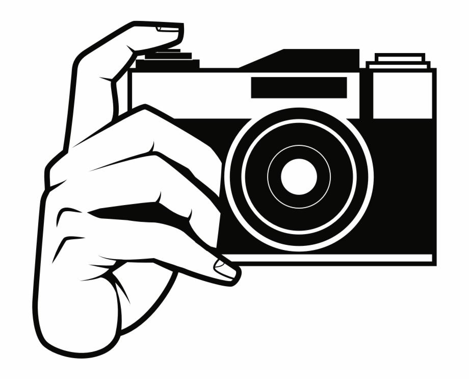 Camera outline icon.