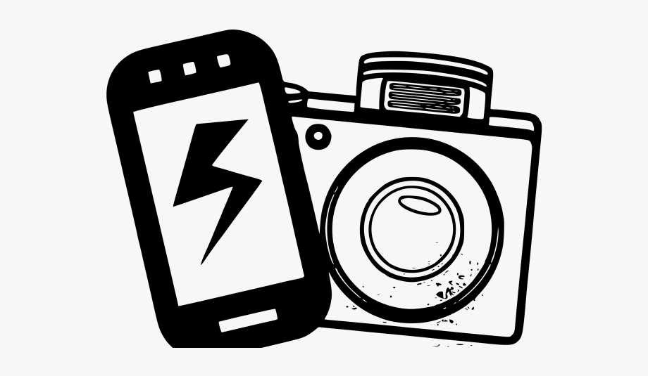 Photography clipart phone.