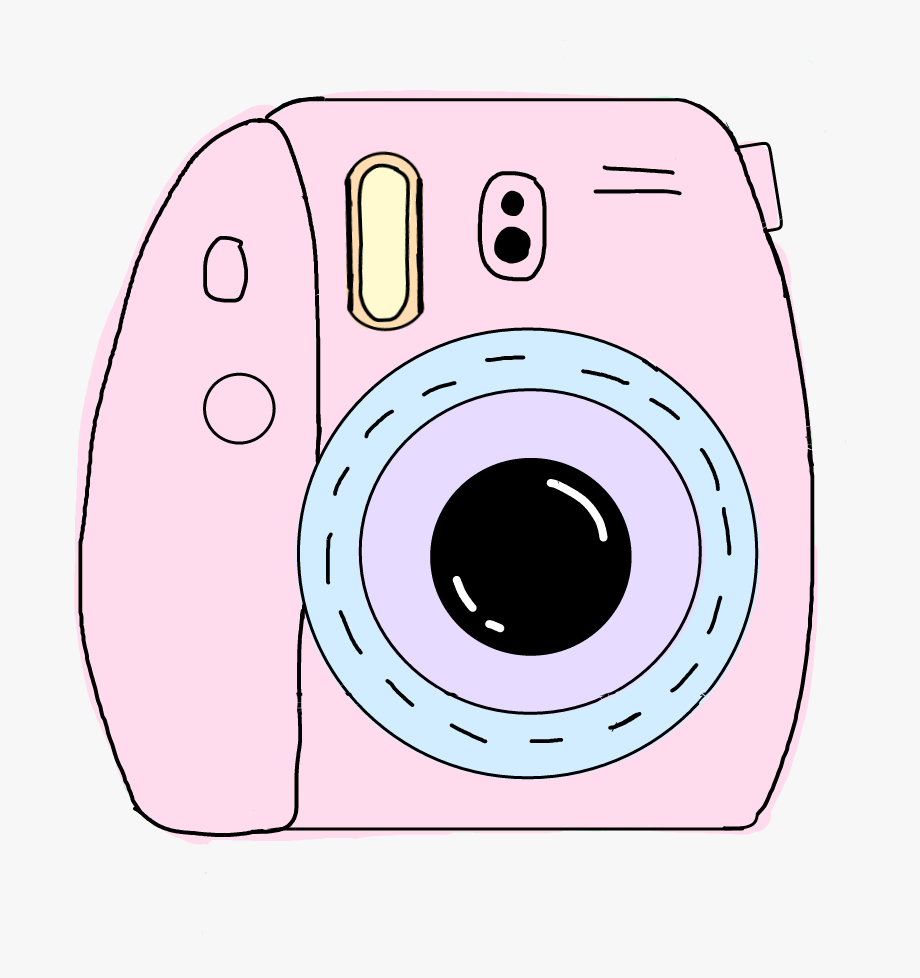 Camera Clipart Kawaii