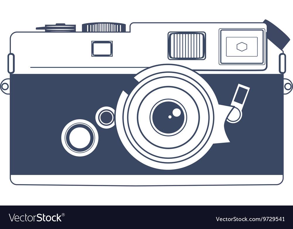 Vintage camera clipart.
