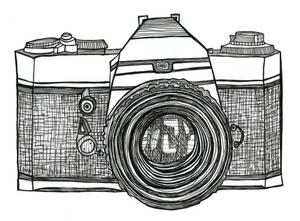 Camera sketch images.