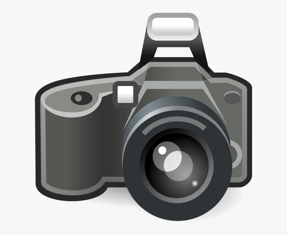 Photo camera clipart.