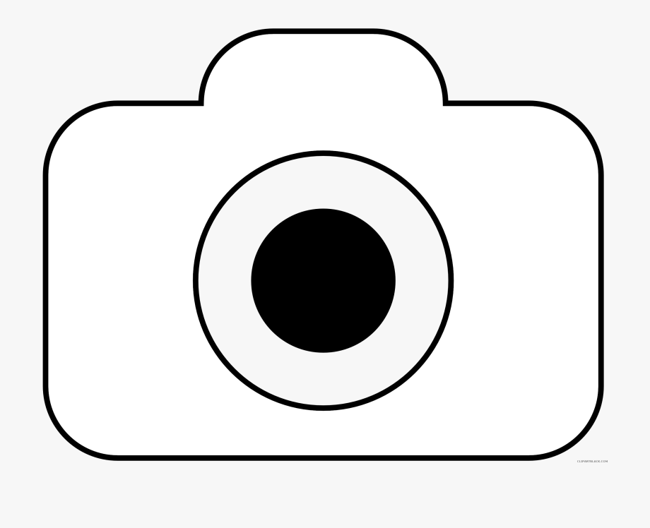 Camera Clipart Black And Whit