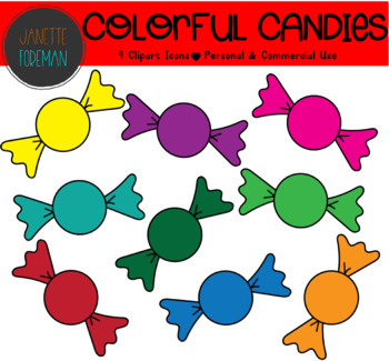 Free colorful candy.