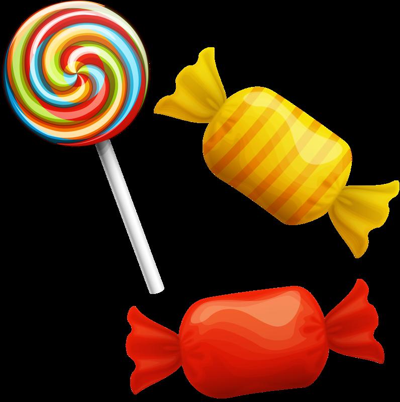 Lollipop candy clip.