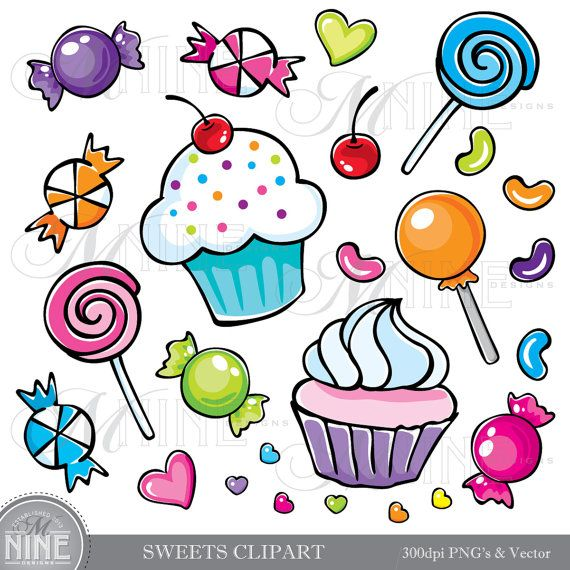 Sweet candy clipart.