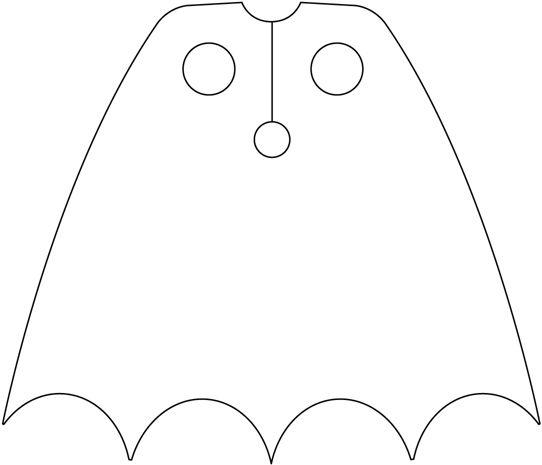 Cape clipart batman. Cape clipart batman. Super hero template panda