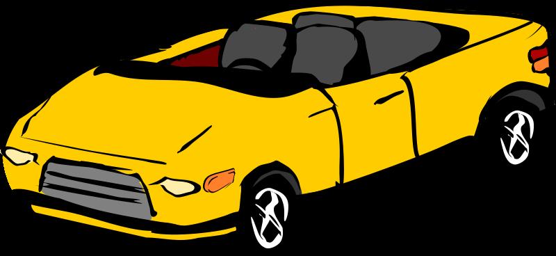 Free convertible car.