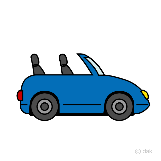 Cute Convertible Clipart Free Picture