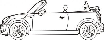 Car clipart convertible, Car convertible Transparent FREE