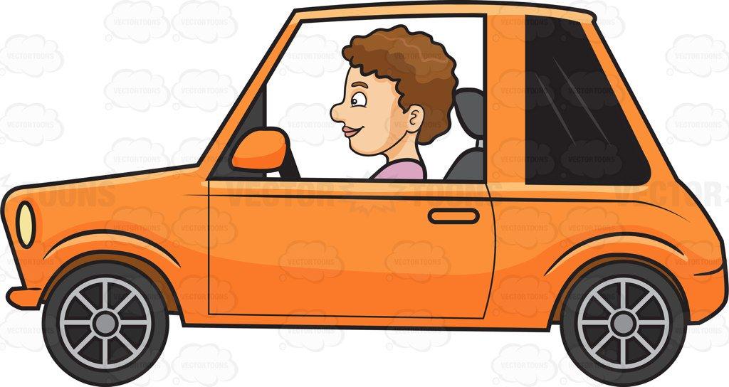 Car Driving Clipart
