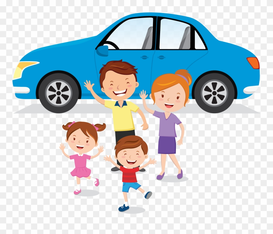 Family car clipart.