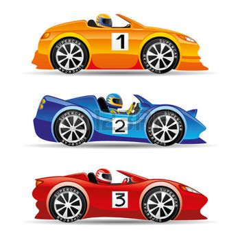 Race car symbol.