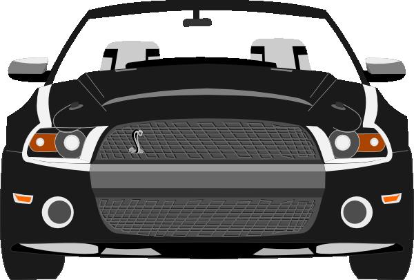 Mustang car clip.