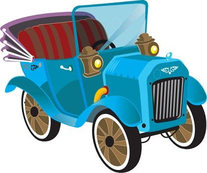 Free Free Vector Old Cars Clipart and Vector Graphics