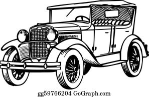 Old Car Clip Art