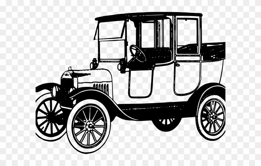 Classic Car Clipart Old Thing