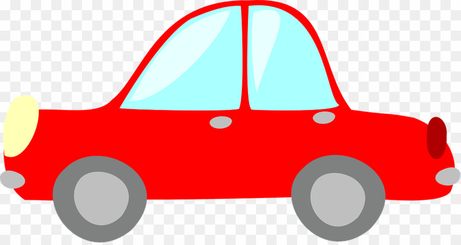 Red car png.