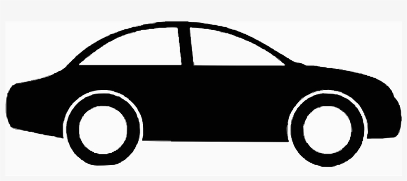 Car silhouette vehicle.