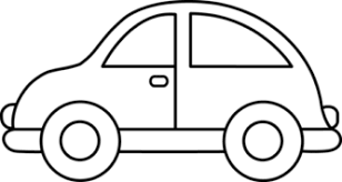 Image result for car clipart black and white