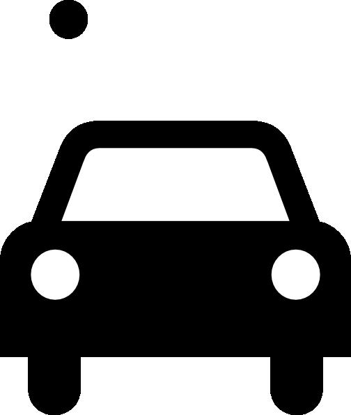 Simple Black Car Clip Art