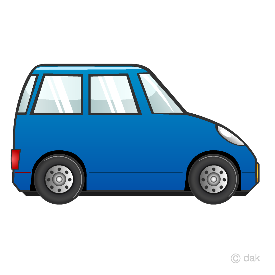 Compact Car Clipart Free Picture