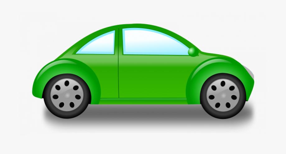 Small Green Car Vector Graphics