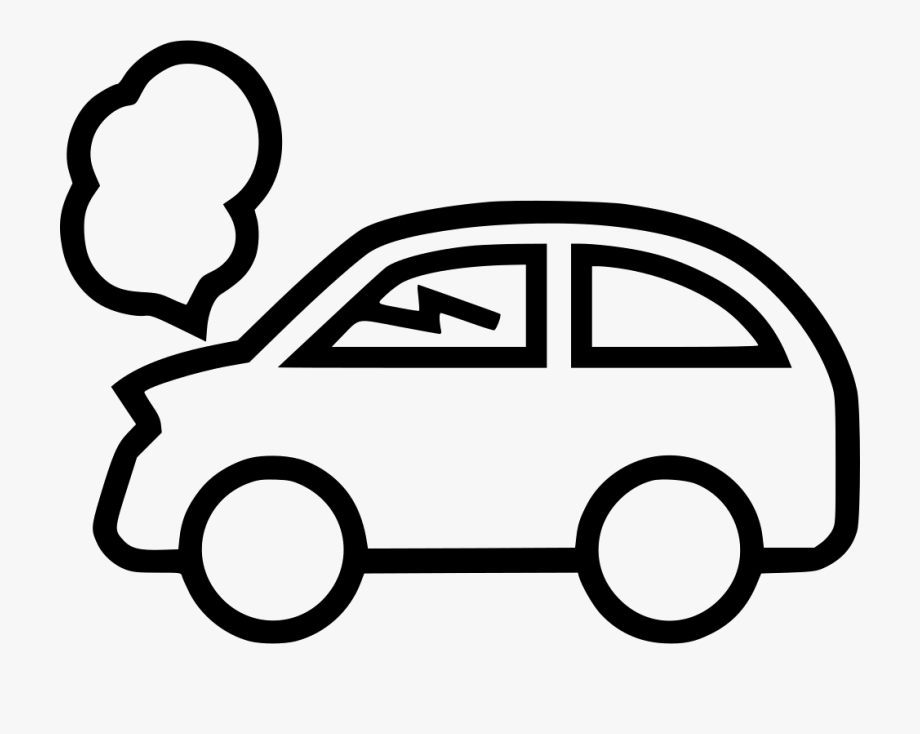 Small Car Black And White Car Clipart , Png