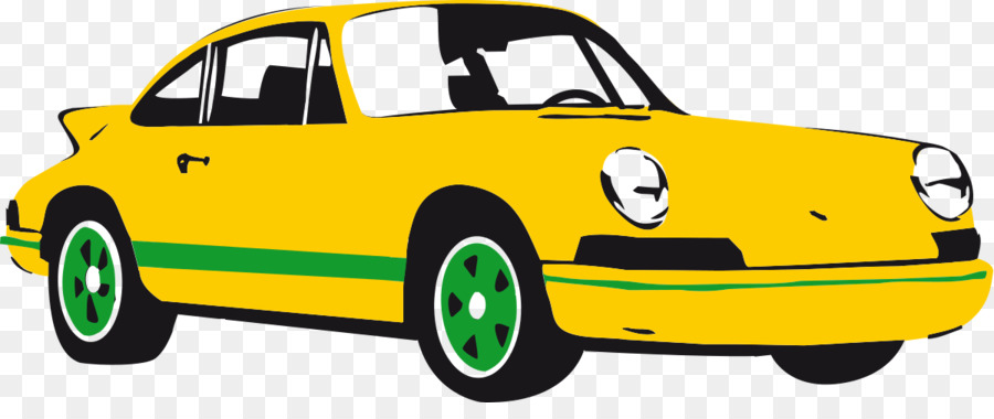 Sports car vector.